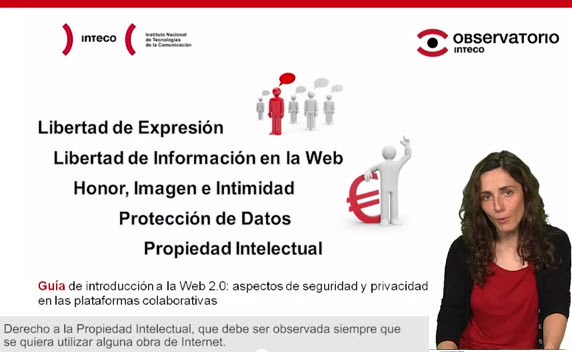 Videos tutoriales sobre seguridad 2.0, informática e Internet