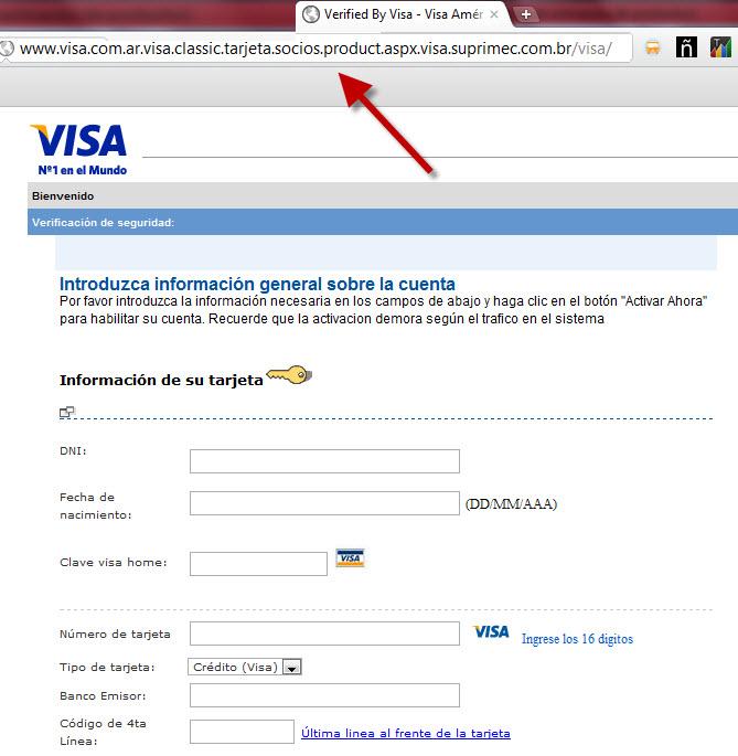 Cuidado con el nuevo phishing con sitios web y correos electrónicos